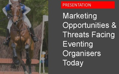 Announcing a new Webinar:  Marketing and Social Media Tips for Eventing Organisers